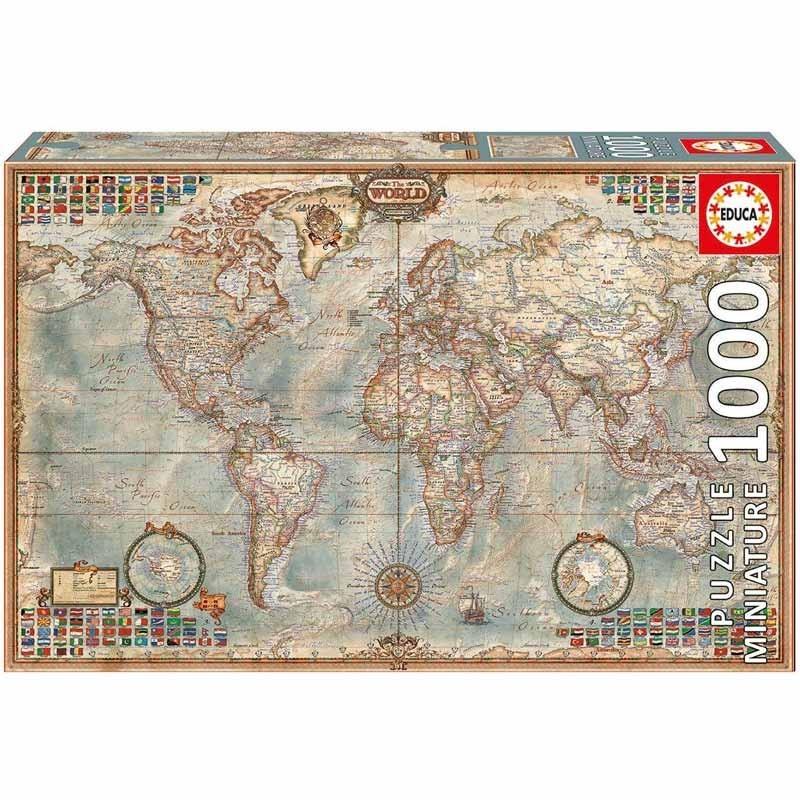 Educa 16764. Puzzle 1000 Piezas Mapa Político