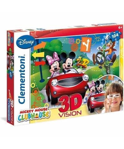 Clementoni 20605. Puzzle 104 Piezas Mickey Club House