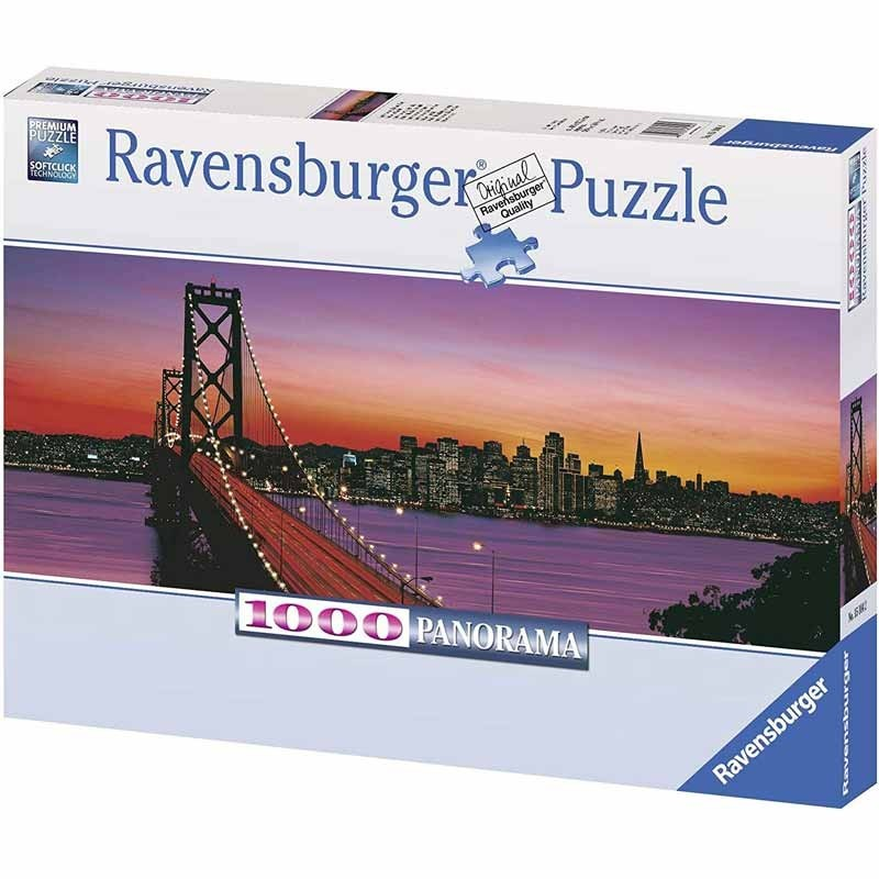 "151042. Puzzle Ravensburger 1000 piezas Golden Gate ""Panorama"""