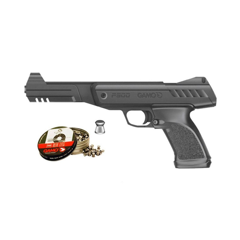 111029 Gamo. Pack Pistola perdigón P-900 Cal.4,5mm