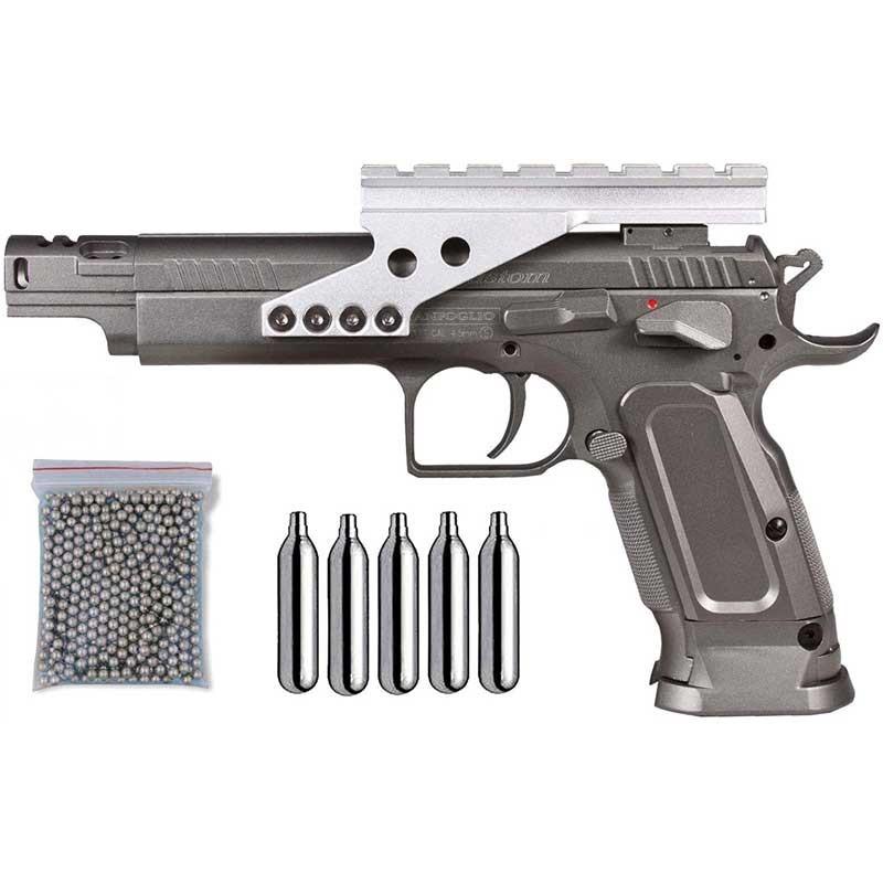 Pack Pistola Gold Custom 29318/38123