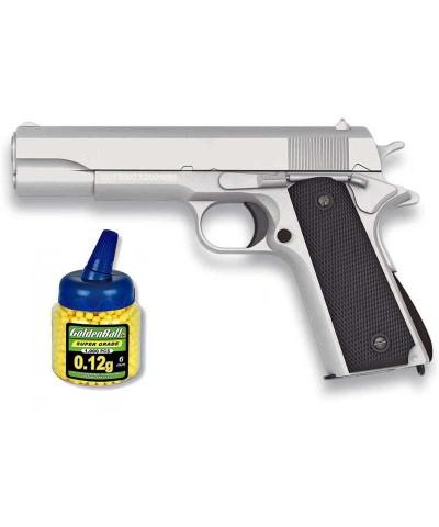 Pack Pistola 1911 Plata 21993