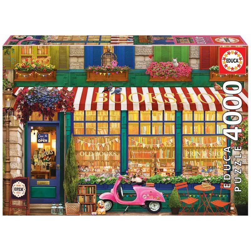 Puzzle 4000 Piezas Librería Vintage
