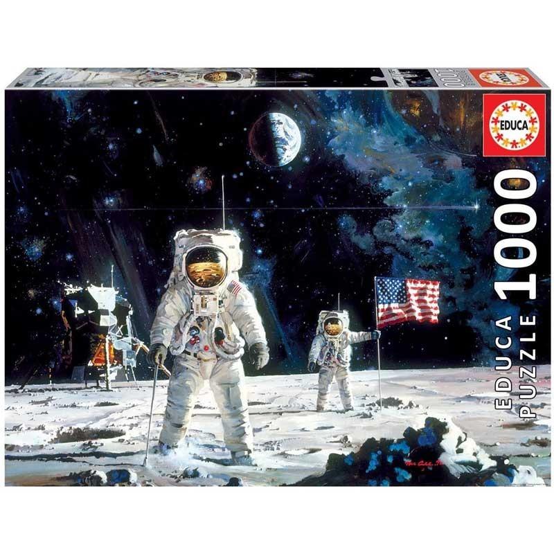 Puzzle 1000 piezas Primer Hombre en la Luna