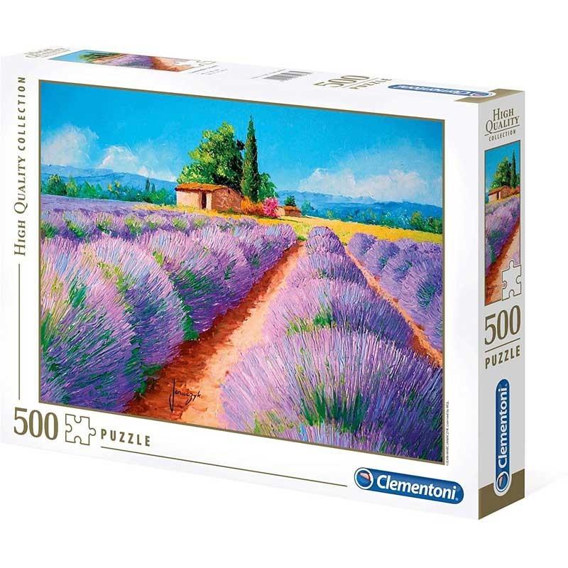 Puzzle 500 piezas Lavanda