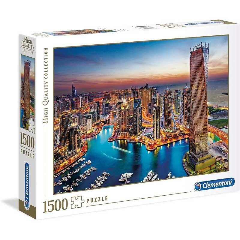 Puzzle 1500 piezas Dubai Marina