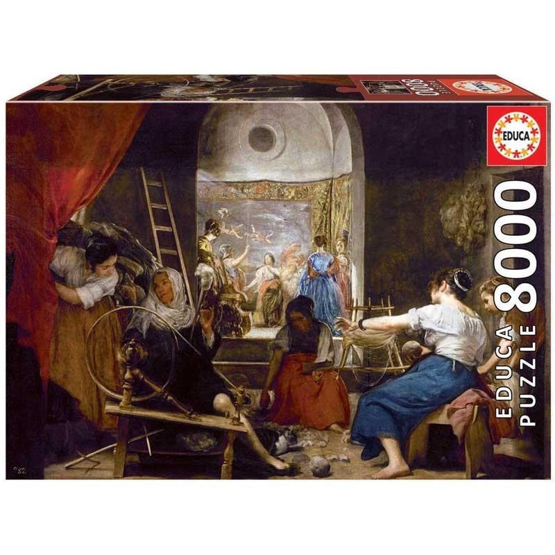 Puzzle 8000 Piezas Las Hilanderas