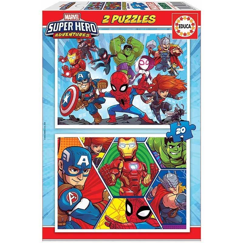 Puzzle 2x20 Marvel Super Hero Adventures