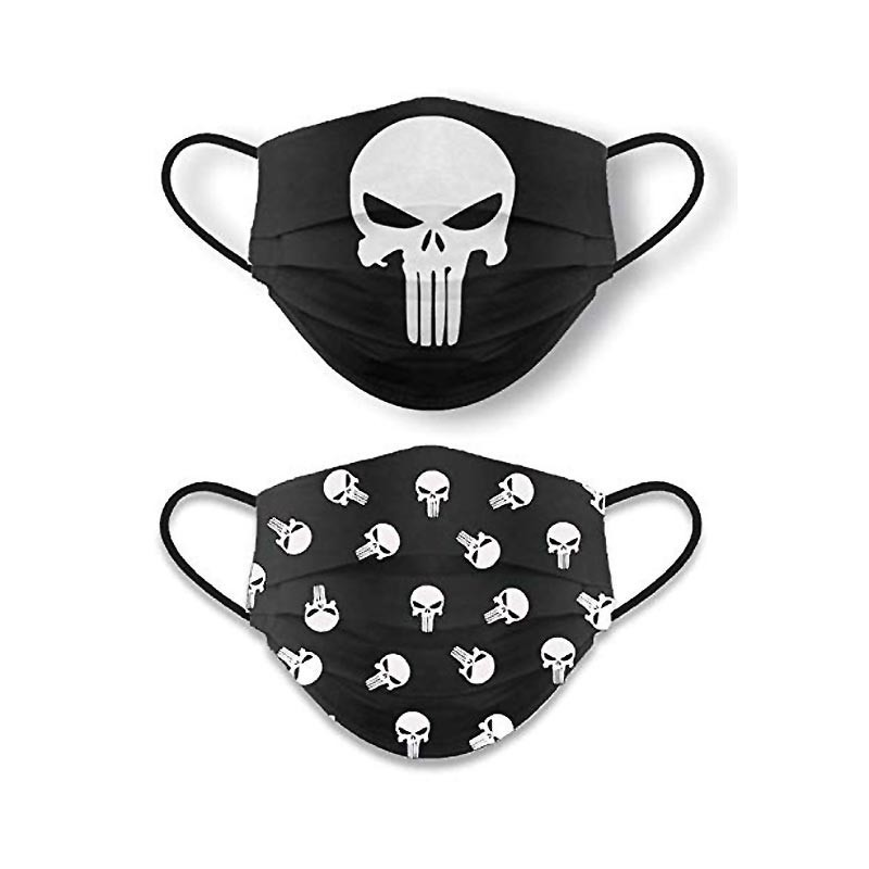 Mascarilla Punisher Reversible