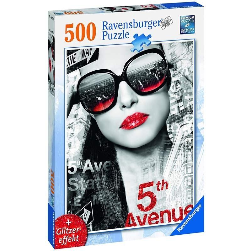 Puzzle 500 Piezas Labios Brillantes