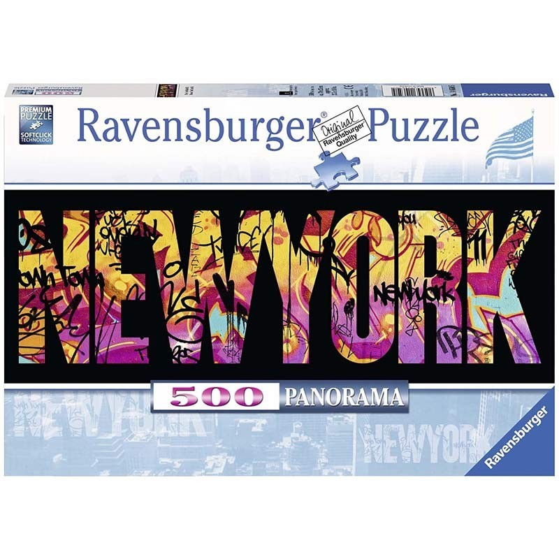 Puzzle 500 Piezas New York Graffiti