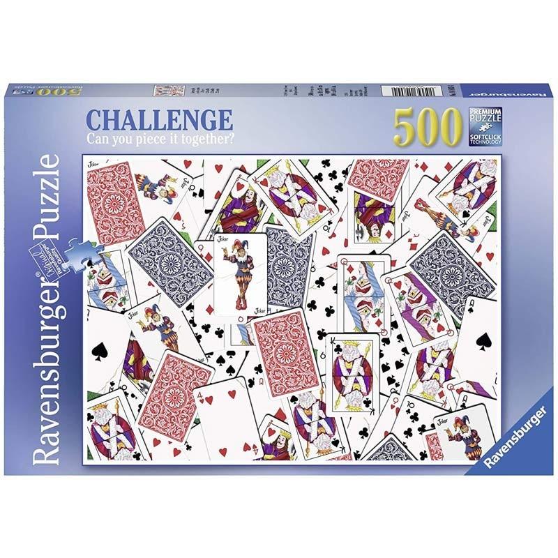 Puzzle 500 piezas Cartas de Poker