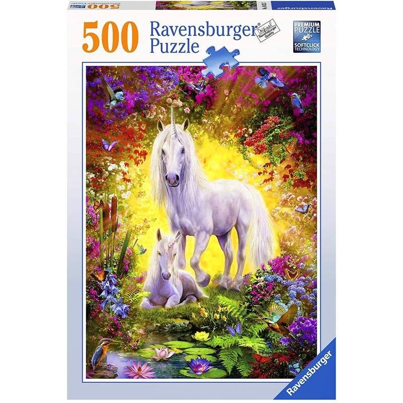 Puzzle 500 piezas Unicornio y Potro