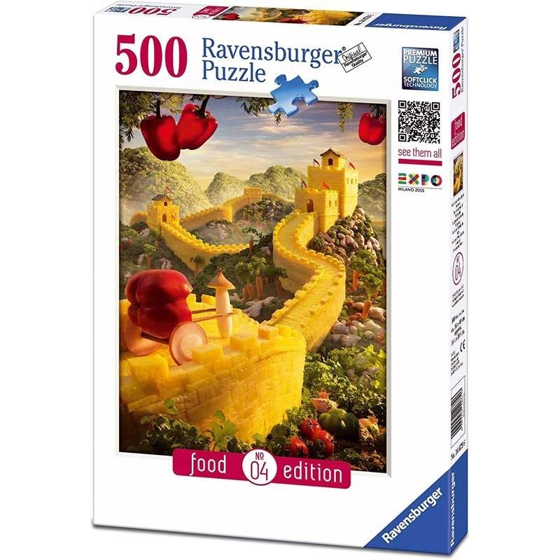 Puzzle 500 La Gran Muralla de Piña