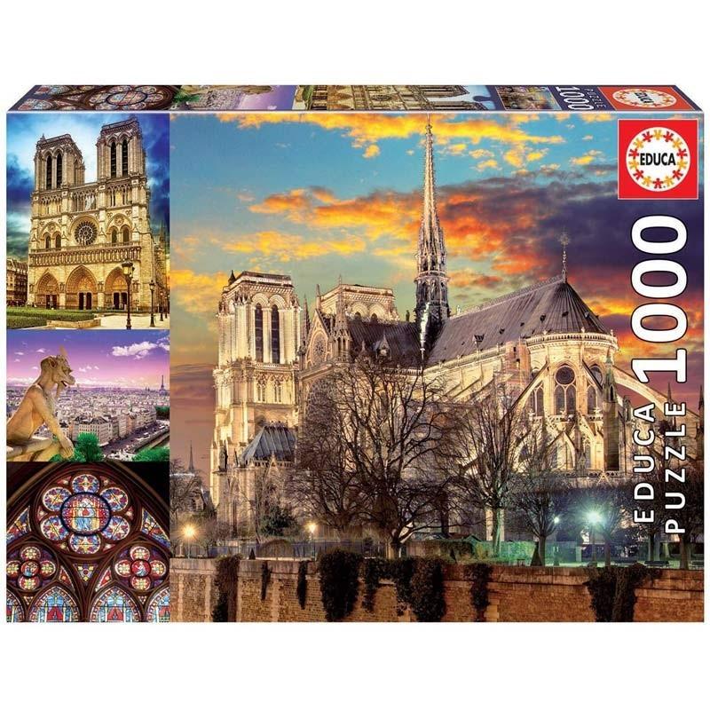 Puzzle 1000 Piezas Notre Dame