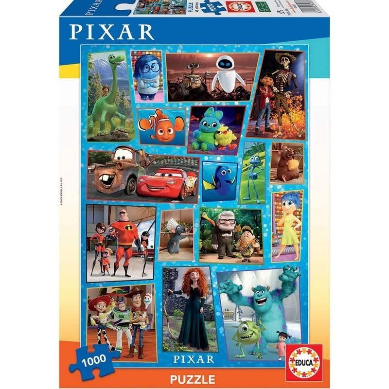 Puzzle 1000 piezas Disney Pixar