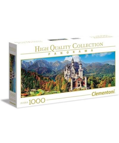 Puzzle 1000 piezas Neuschwanstein Panorama