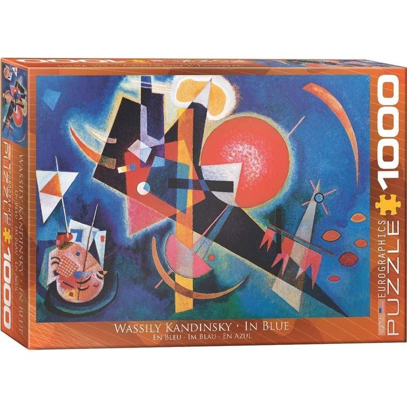 Puzzle 1000 piezas En Azul
