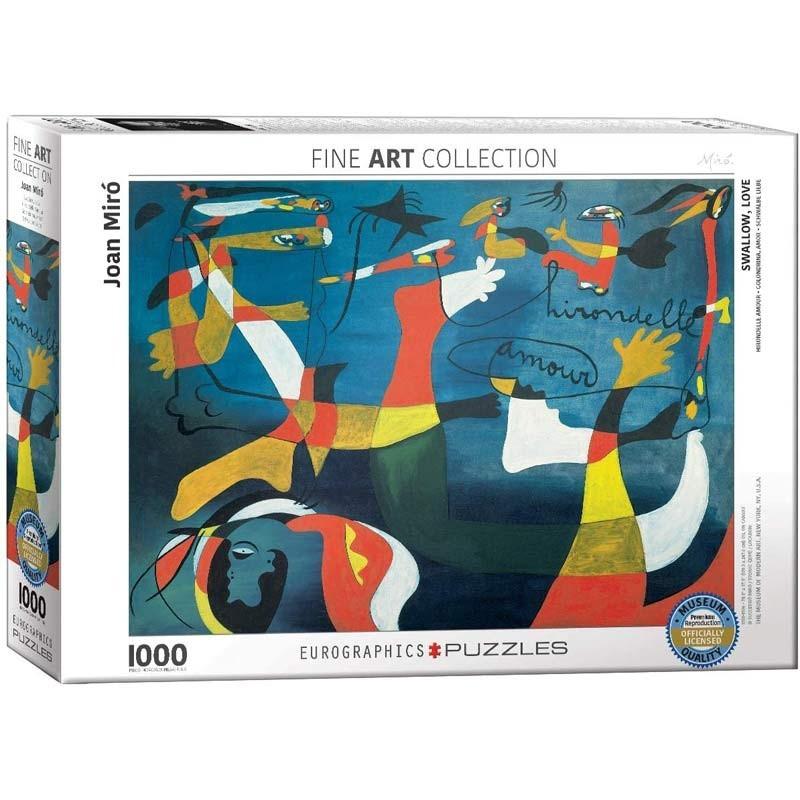 Puzzle 1000 piezas Golondrina y Amor