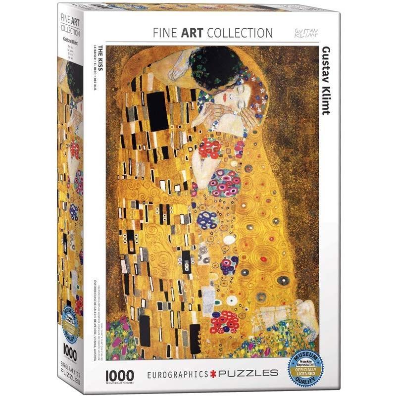 Puzzle 1000 piezas El Beso