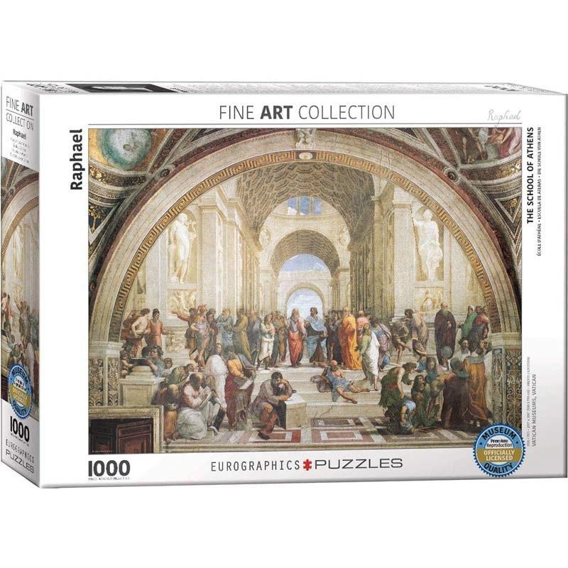 Puzzle 1000 piezas Escuela de Atenas