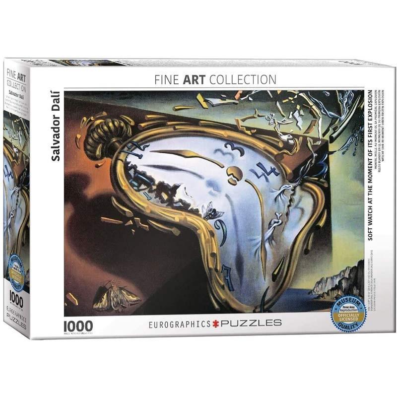 Puzzle 1000 piezas Reloj Blando