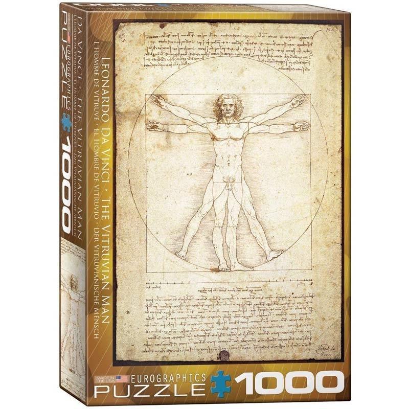 Puzzle 1000 piezas El Hombre de Vitruvio