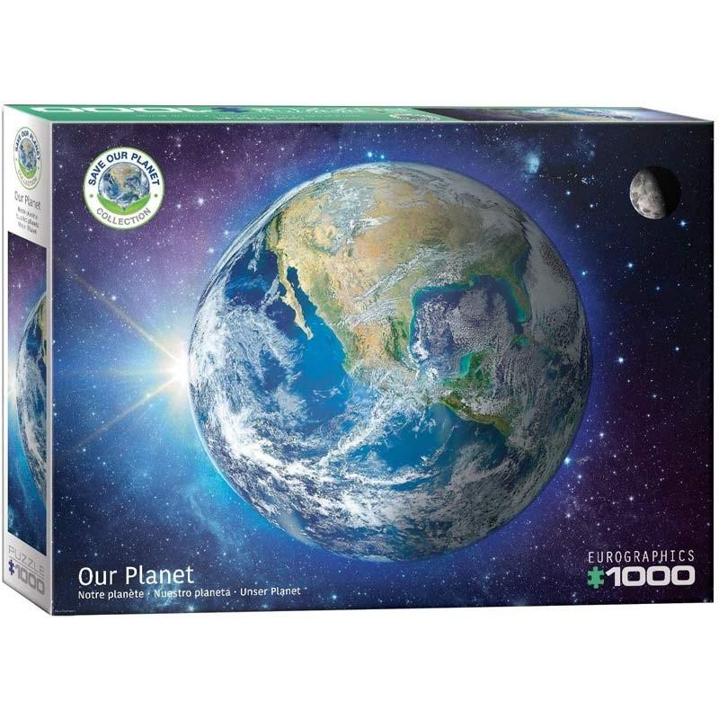 Puzzle 1000 piezas Nuestro Planeta