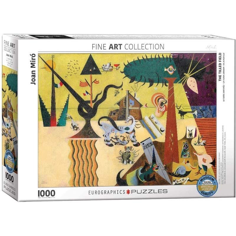Puzzle 1000 piezas La Tierra Labrada