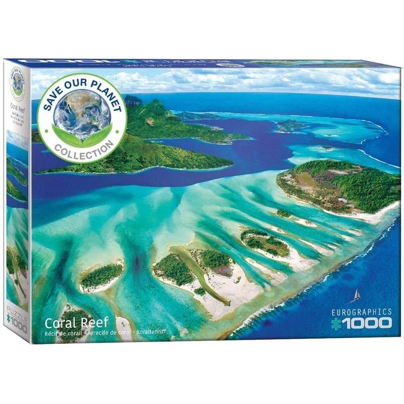 Puzzle 1000 piezas Arrecife de Coral