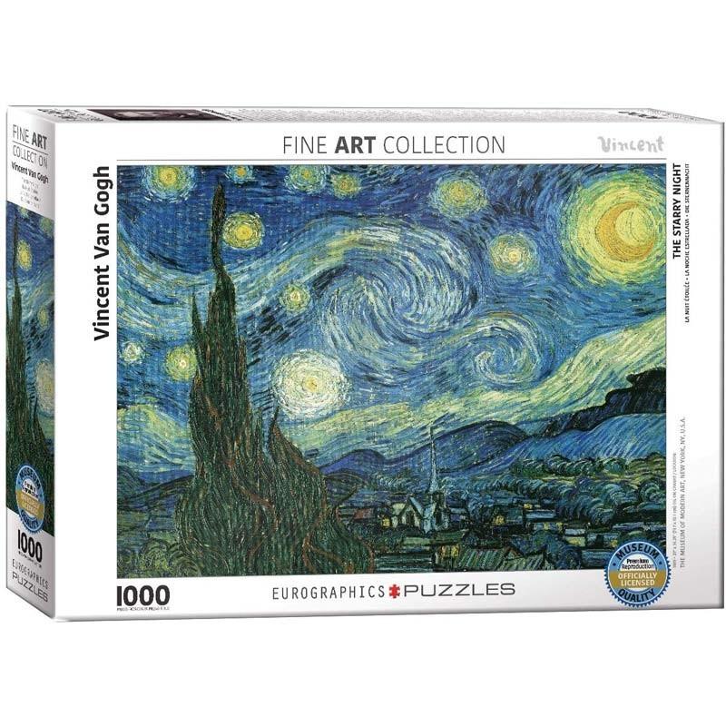 Puzzle 1000 piezas La Noche Estrellada