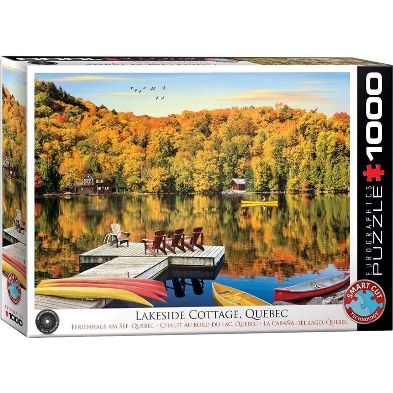 Puzzle 1000 piezas La Cabaña del Lago
