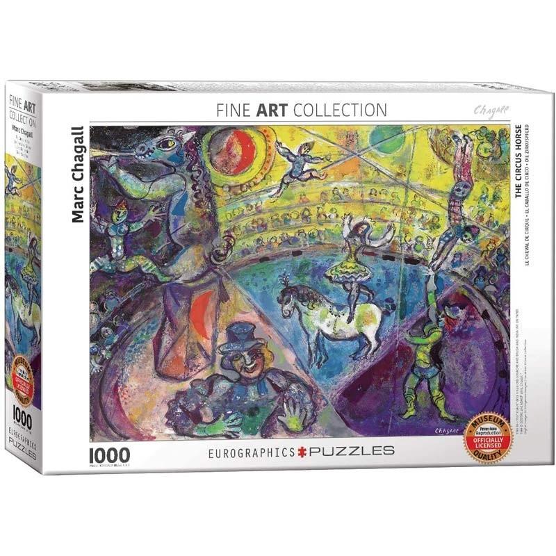 Puzzle 1000 piezas El Caballo de Circo