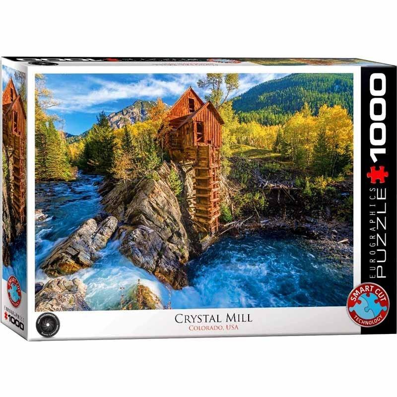 Puzzle 1000 piezas Crystal Mill