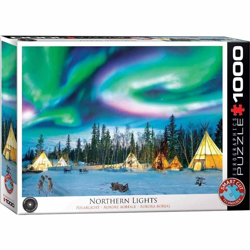 Puzzle 1000 piezas Aurora Boreal
