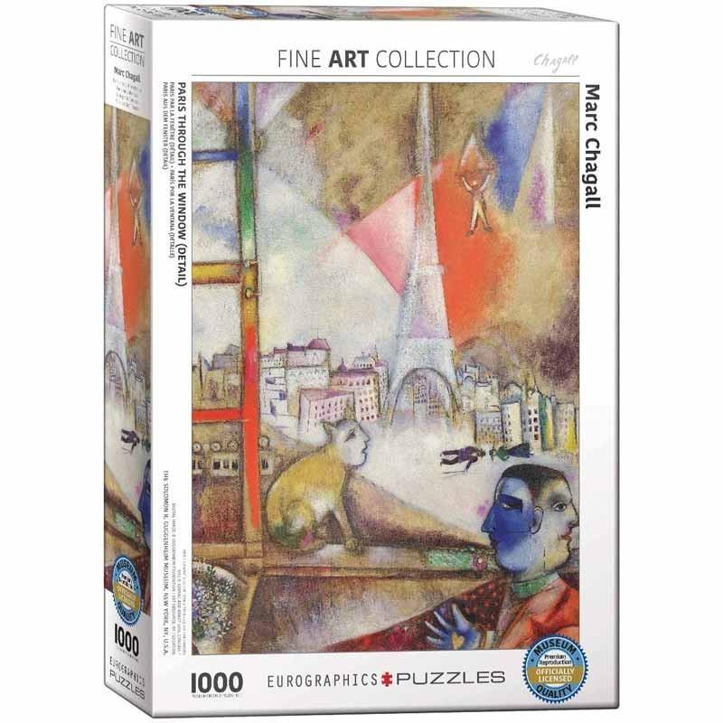 Puzzle 1000 piezas París por la Ventana