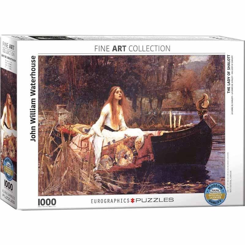 Puzzle 1000 piezas La Dama de Shalott