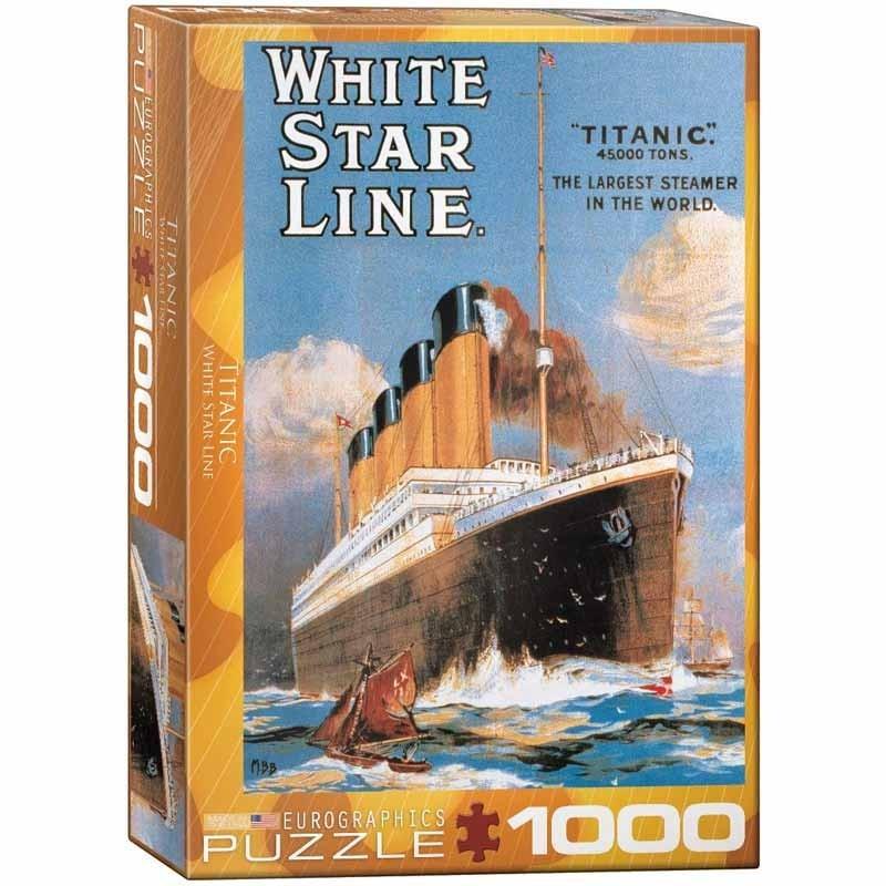 Puzzle 1000 piezas Cartel Titanic