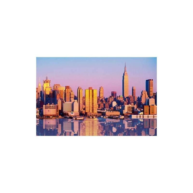 39152. Puzzle Clementoni 1000 piezas Nueva York Multimedia