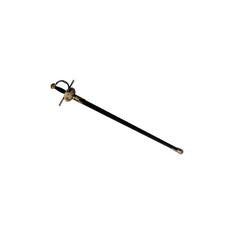 AM-13788 Amont. Espada Florete con funda