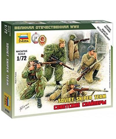 1/72 Equipo de Francotiradores Soviético