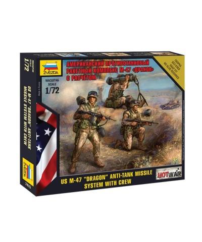 1/72 US Dotacion Misil Anti Tanque Dragon