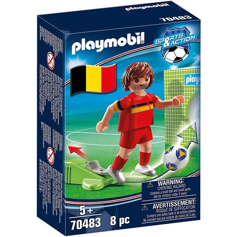 Jugador de Fútbol Bélgica