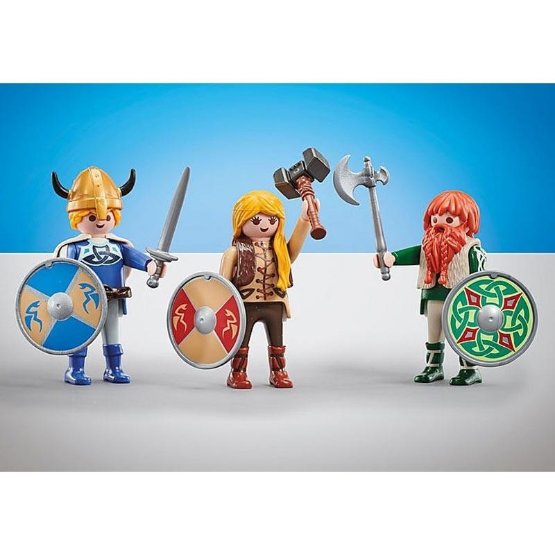 Tres Vikingos