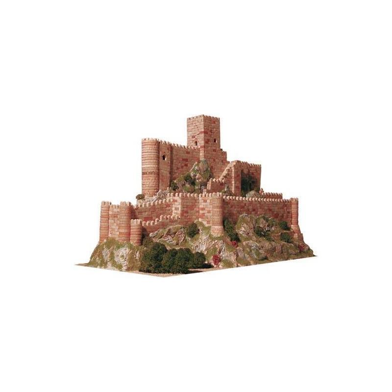 Aedes 1006. Maqueta Castillo de Almansa, Albacete, España