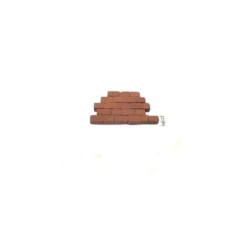 2219. Piedra de muro roja 300 unidades, Aedes Ars