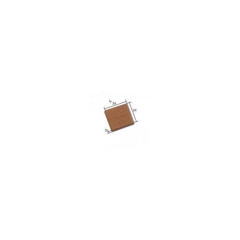 2102. Baldosa roja Escala 1/10 25 unidades, Aedes Ars