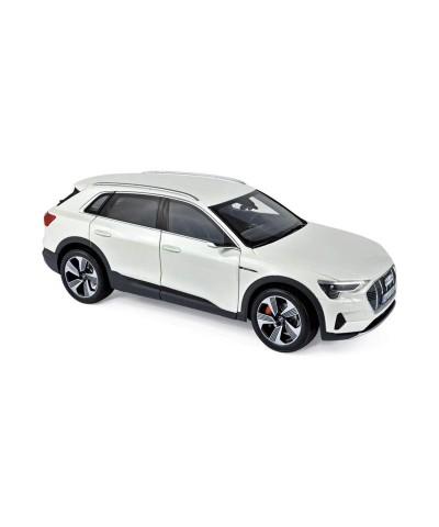 1/18 Audi E-Tron 2019 Blanco Metalizado