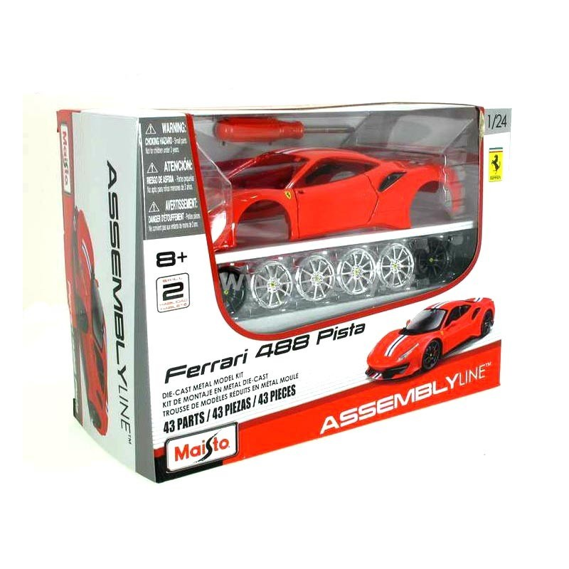 Kit 1/24 Ferrari 488 Pista
