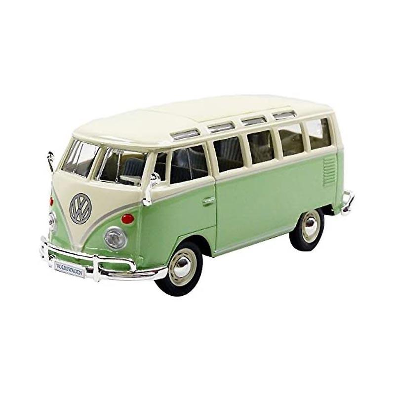 1/25 Volkswagen T1 Samba Van 1962 Verde Pastel y Crema